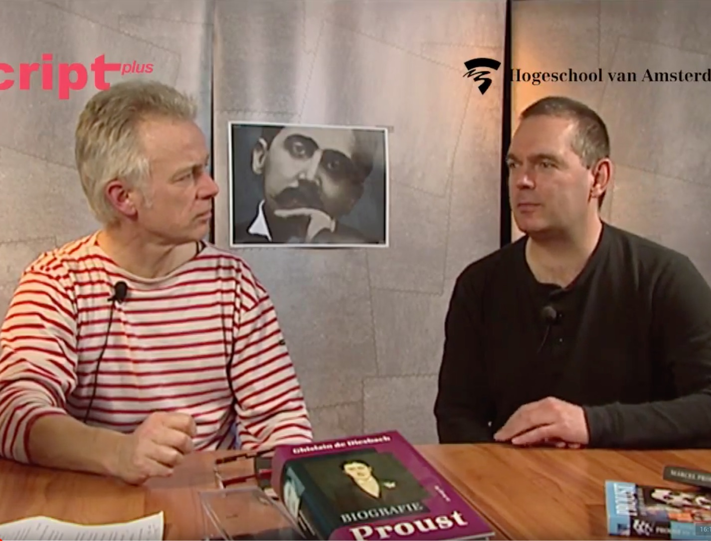 Boekenprogramma 'Uit de school geklapt': Martin de Haan en Rokus Hofstede